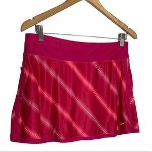 Nike Dri-Fit pink active wear Tenis skirt Medium